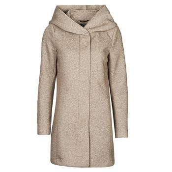 Oblečenie Ženy Kabáty Only ONLSEDONA Hnedá