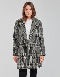 Oblečenie Ženy Kabáty Only ONLSELENA MINNA Čierna / Béžová