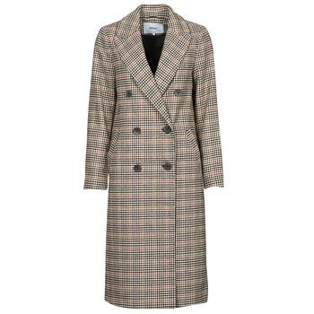 Oblečenie Ženy Kabáty Only ONLZOEZUE Hnedá