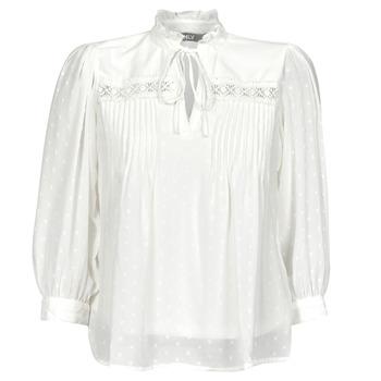 Oblečenie Ženy Blúzky Only ONLMADONNA Biela