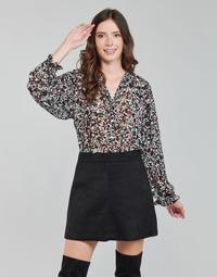 Oblečenie Ženy Blúzky Only ONLMELINA Čierna / Viacfarebná