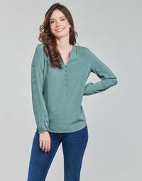 Oblečenie Ženy Blúzky Only ONLNEW EDDIE Zelená