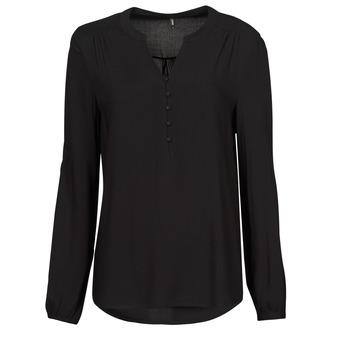 Oblečenie Ženy Blúzky Only ONLNEW EDDIE Čierna