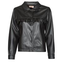 Oblečenie Ženy Kožené bundy a syntetické bundy Moony Mood PABLIS Čierna