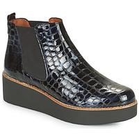 Topánky Ženy Polokozačky Fericelli LORNA Námornícka modrá