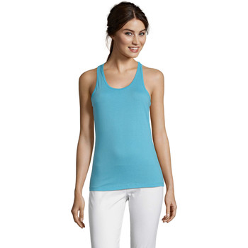 Oblečenie Ženy Tielka a tričká bez rukávov Sols Justin camiseta sin mangas Azul