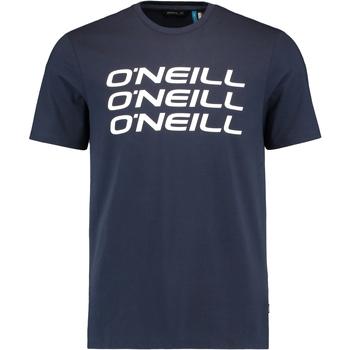 Oblečenie Muži Tričká s krátkym rukávom O'neill Triple Stack Modrá