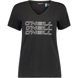 Oblečenie Ženy Tričká s krátkym rukávom O'neill Triple Stack čierna