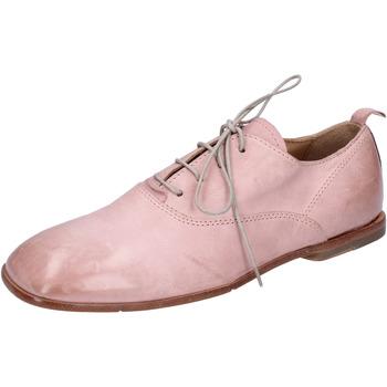 Topánky Ženy Derbie Moma BH286 Ružová