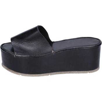 Topánky Ženy Šľapky Moma BH287 Čierna