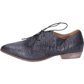Topánky Ženy Derbie Moma BH295 Čierna