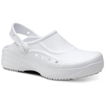 Topánky Muži Nazuvky Feliz Caminar Zueco Laboral Flotantes Evolution - Biela