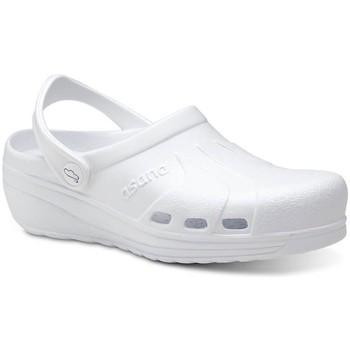 Topánky Muži Nazuvky Feliz Caminar Zuecos Sanitarios Asana - Biela