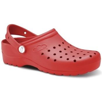 Topánky Muži Nazuvky Feliz Caminar Zuecos Sanitarios Flotantes Gruyere - Červená