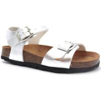 Topánky Dievčatá Sandále Pastelle Salome Strieborná