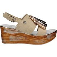 Topánky Ženy Sandále Byblos Blu 672213 Béžová