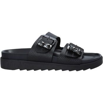 Topánky Ženy Šľapky Apepazza S1SOFTWLK03/LEA čierna