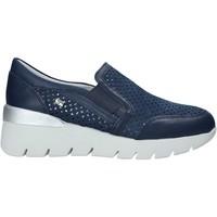 Topánky Ženy Slip-on Valleverde 18253 Modrá