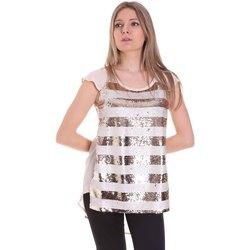Oblečenie Ženy Blúzky Gaudi 111BD45033 Ružová