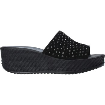 Topánky Ženy Šľapky Enval 7280000 čierna