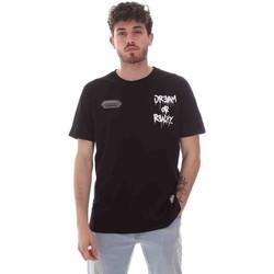 Oblečenie Muži Tričká s krátkym rukávom Disclaimer 21EDS50587 čierna