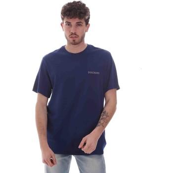 Oblečenie Muži Tričká s krátkym rukávom Dockers 27406-0116 Modrá