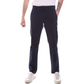 Oblečenie Muži Nohavice Chinos a Carrot Dockers 55775-0002 Modrá