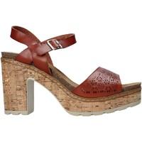 Topánky Ženy Sandále Refresh 72690 Hnedá