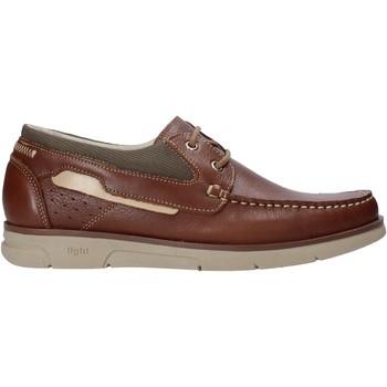 Topánky Muži Námornícke mokasíny Rogers 2871-ESC Hnedá