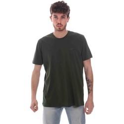 Oblečenie Muži Tričká s krátkym rukávom Key Up 2M915 0001 Zelená