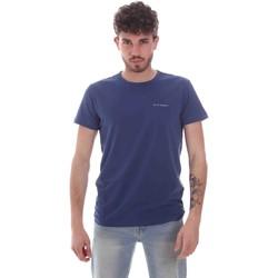 Oblečenie Muži Tričká s krátkym rukávom Key Up 2G69S 0001 Modrá