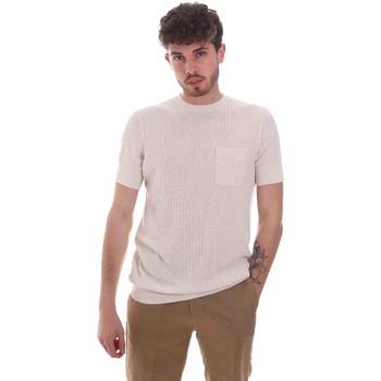 Oblečenie Muži Tričká s krátkym rukávom Antony Morato MMSW01179 YA500068 Béžová