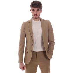 Oblečenie Muži Saká a blejzre Antony Morato MMJS00005 FA400060 Béžová