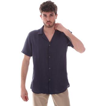 Oblečenie Muži Košele s krátkym rukávom Sseinse CE588SS Modrá