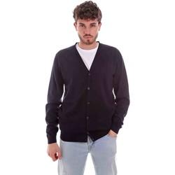 Oblečenie Muži Cardigany Sseinse ME1831SS Modrá