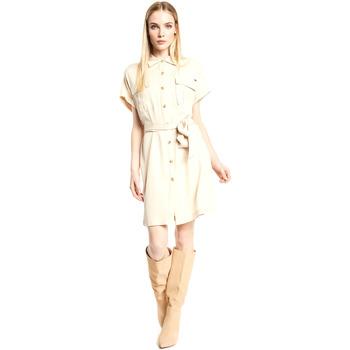Oblečenie Ženy Krátke šaty Gaudi 111FD15011 Béžová
