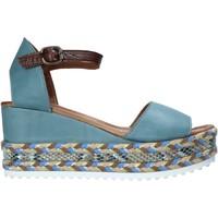 Topánky Ženy Sandále Bueno Shoes 21WQ6000 Modrá