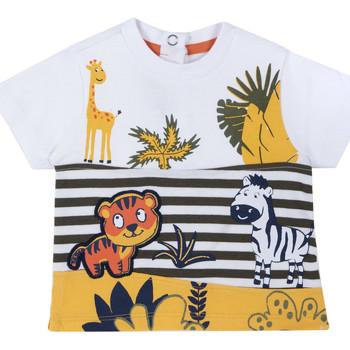 Oblečenie Deti Tričká s krátkym rukávom Chicco 09067093000000 Biely