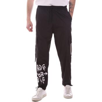 Oblečenie Muži Nohavice Cargo Disclaimer 21EDS50560 čierna