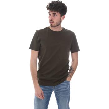 Oblečenie Muži Tričká s krátkym rukávom Antony Morato MMKS02023 FA100229 Zelená