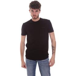 Oblečenie Muži Tričká s krátkym rukávom Antony Morato MMKS01855 FA120022 čierna
