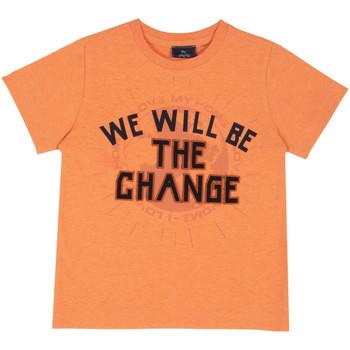 Oblečenie Deti Tričká s krátkym rukávom Chicco 09067318000000 Oranžová