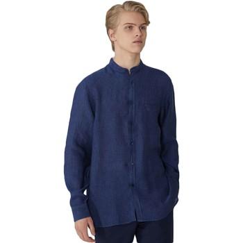Oblečenie Muži Košele s dlhým rukávom Trussardi 52C00154-1T002248 Modrá