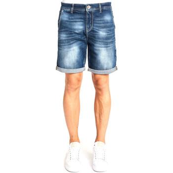 Oblečenie Muži Šortky a bermudy Gaudi 111GU26041 Modrá