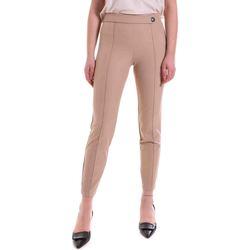 Oblečenie Ženy Legíny Cristinaeffe 0410 2121 Béžová