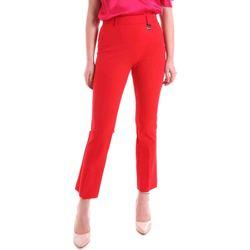Oblečenie Ženy Nohavice Chinos a Carrot Cristinaeffe 0412 2484 Červená
