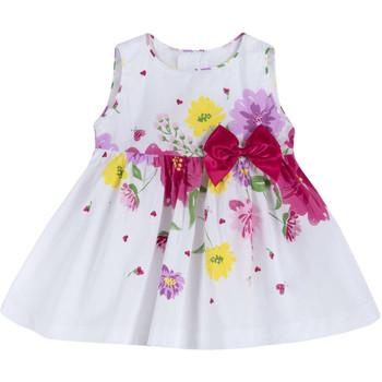 Oblečenie Dievčatá Krátke šaty Chicco 09003900000000 Biely