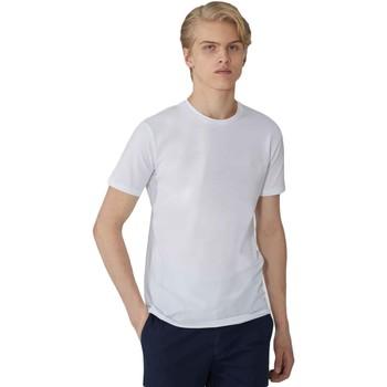 Oblečenie Muži Tričká s krátkym rukávom Trussardi 52T00499-1T003614 Biely