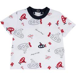 Oblečenie Deti Tričká s krátkym rukávom Chicco 09067163000000 Biely