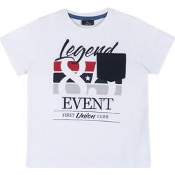 Oblečenie Deti Tričká s krátkym rukávom Chicco 09067252000000 Biely